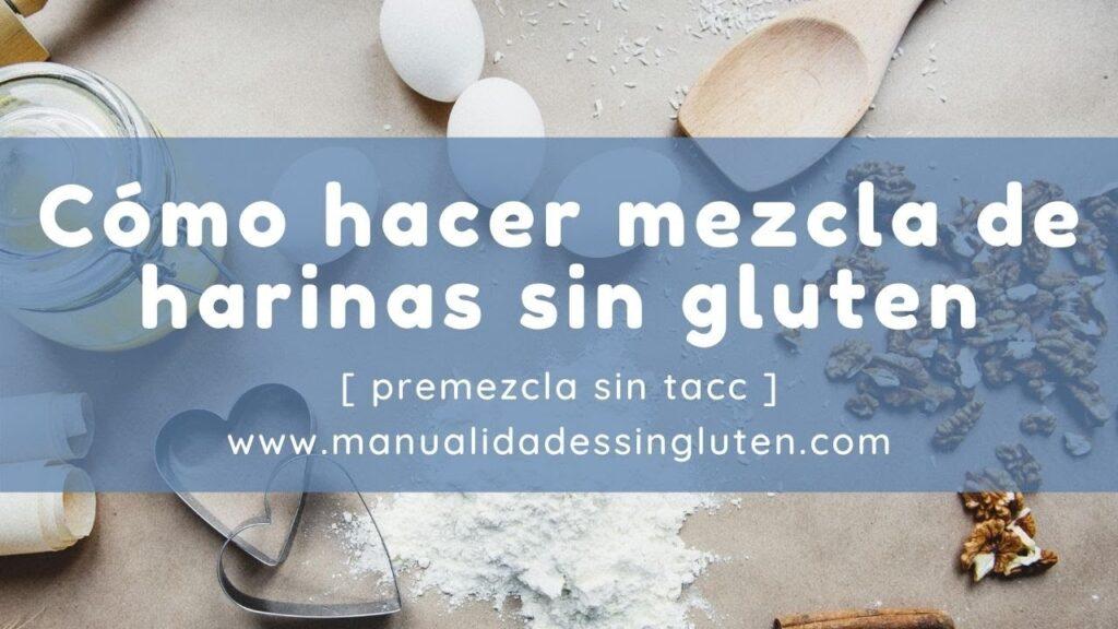 💗 Aprende a hacer mezcla de harinas casera sin gluten | 💗 Cómo sustituir harina de trigo