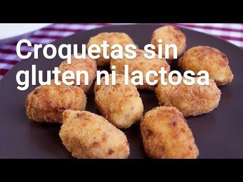 Croquetas caseras sin gluten ni lactosa