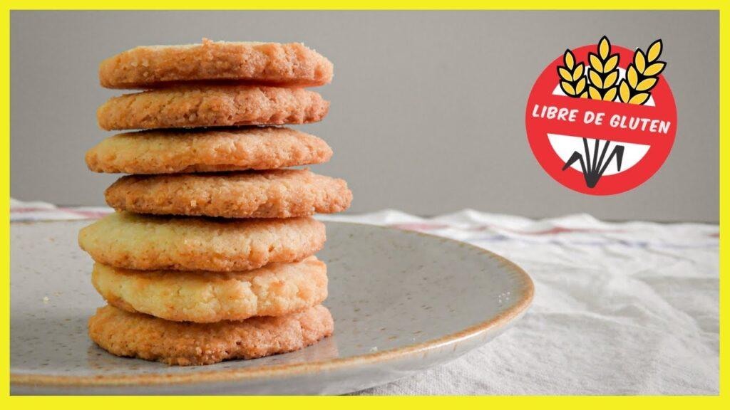 Galletas sin gluten con 3 ingredientes (realmente fáciles)