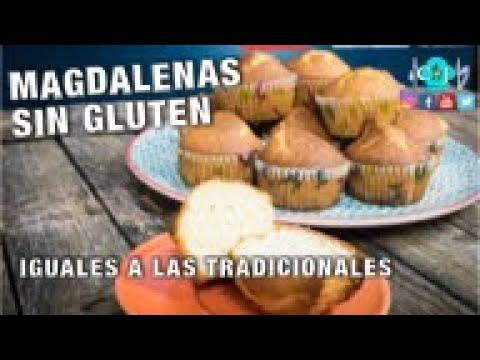 Magdalenas Sin Gluten – Recetas de Cocina