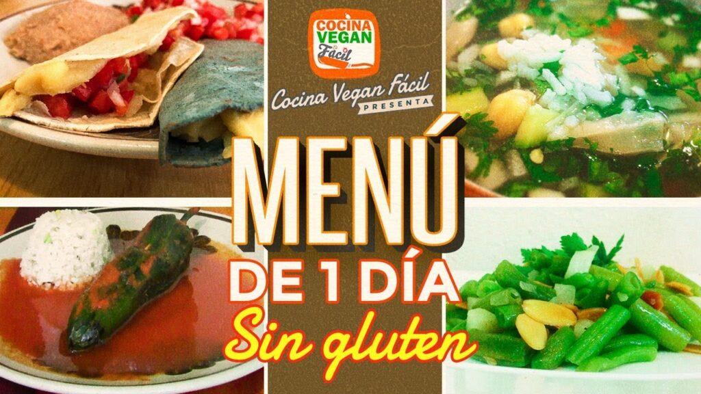 Menú de 1 día sin gluten – Cocina Vegan Fácil