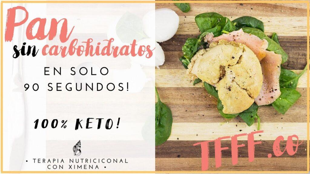PAN SIN CARBOHIDRATOS KETO | RECETA SALUDABLE PAN PARA CETOSIS SIN GLUTEN Y DELICIOSO!