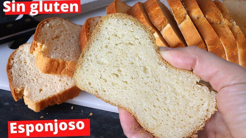 Pan de Molde Sin gluten y Sin lactosa (Extremadamente Fácil)