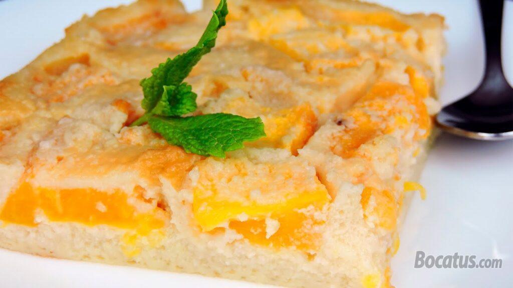 Receta de Tarta de Melocotón (sin gluten, sin lactosa)
