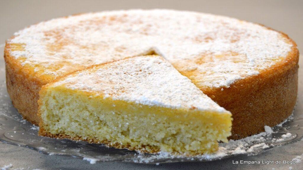 Tarta de Almendras Sin Harina de Trigo. Receta Fácil. Sin Gluten