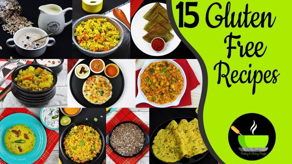 15 Gluten Free Indian Recipes | Veg Gluten Free Diet | Gluten Free Recipes | Gluten Free Food