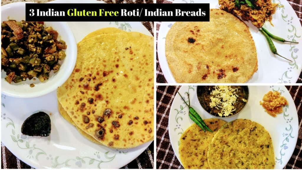 3 Indian Gluten Free Roti/ Flat Bread l Winter Special Indian Roti Recipes l Reallife Realhome