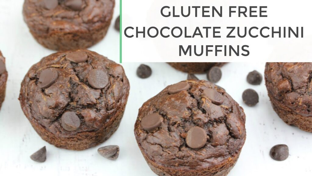 Chocolate Zucchini Muffins | Gluten Free Muffin Recipe