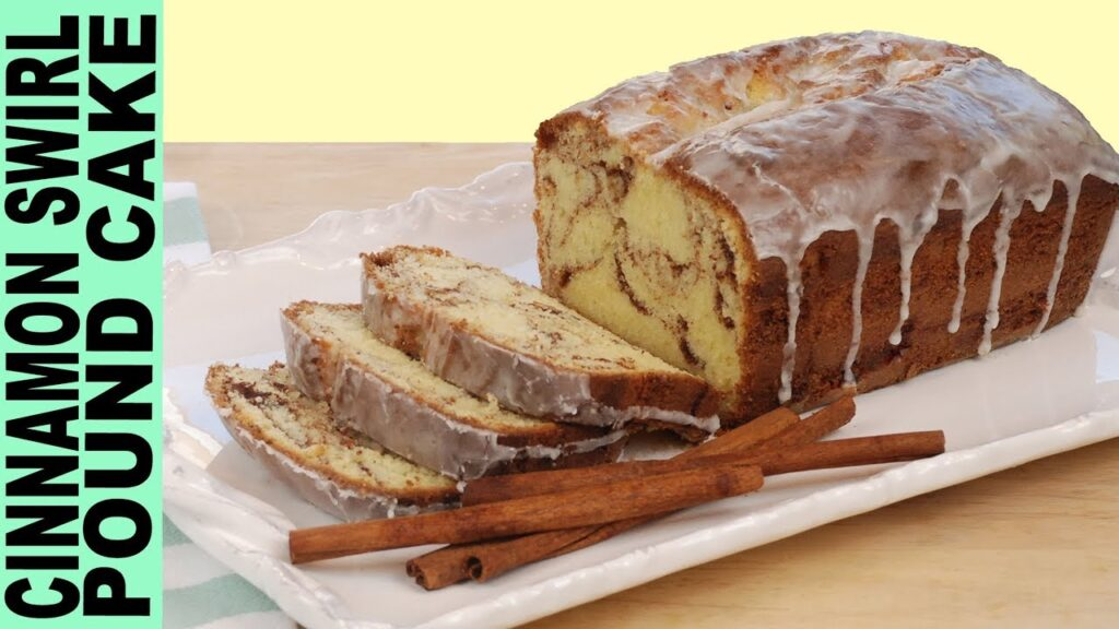 GLUTEN FREE POUND CAKE RECIPE How to Make Cinnamon Swirl Pound Cake Moist and Yummy !