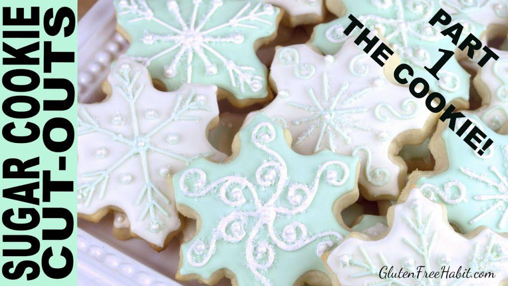 GLUTEN FREE SUGAR COOKIES RECIPE ( Soft !) BEST Gluten-Free Sugar Cookie Cutouts Roll-outs Christmas