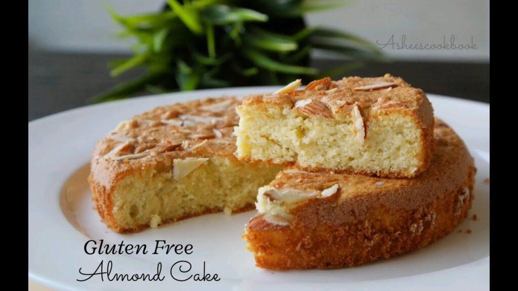 Gluten Free Almond cake / 4 ingredient Almond cake / Asheescookbook