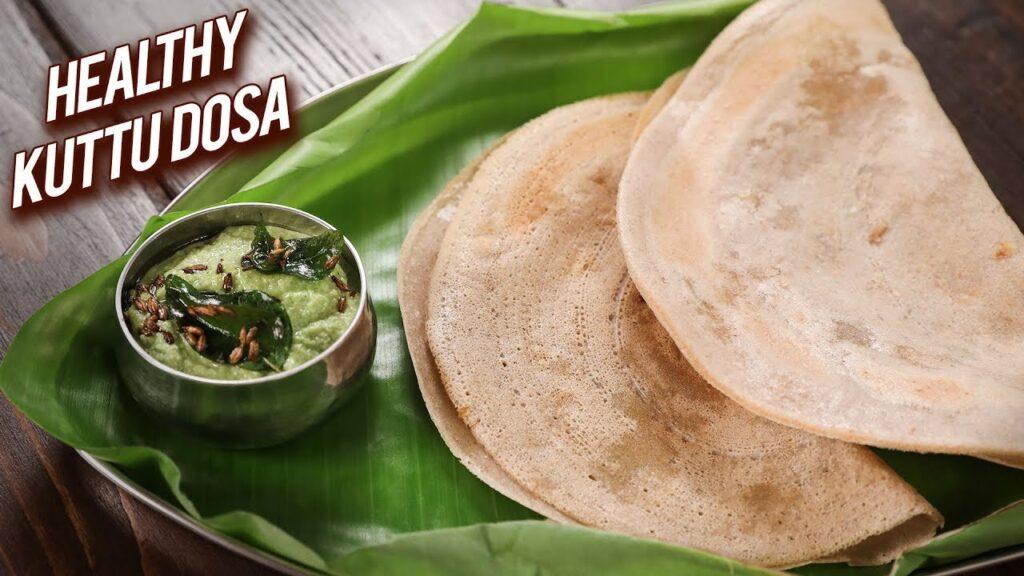 Kuttu Dosa For Fasting | Gluten-Free Dosa | Upvas Dosa | Healthy Buckwheat Dosa | Vrat Ka Dosa|Ruchi