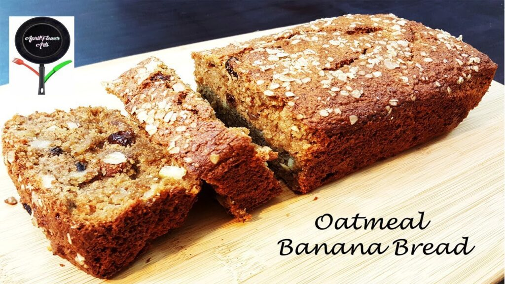 Oatmeal Banana Bread| Easy Snack Cake| Gluten-free Recipe