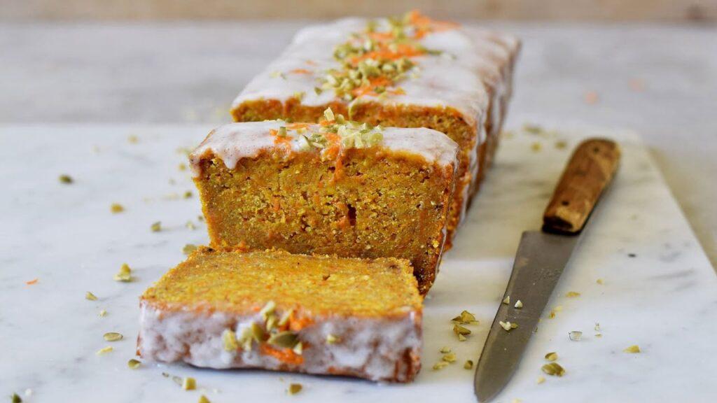 Vegan Carrot Cake 🥕 | Easy, Gluten-Free & Healthy Recipe